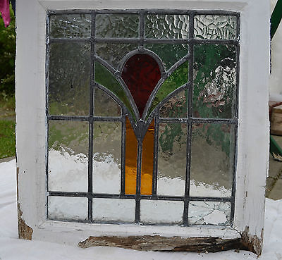 Art deco leaded light stained glass window. B204b. WORLDWIDE DELIVERY!!!