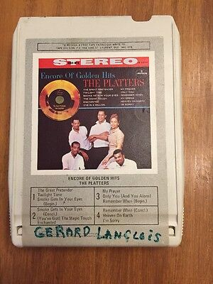 Encore Of Golden Hits The Platters 8 Track Tested