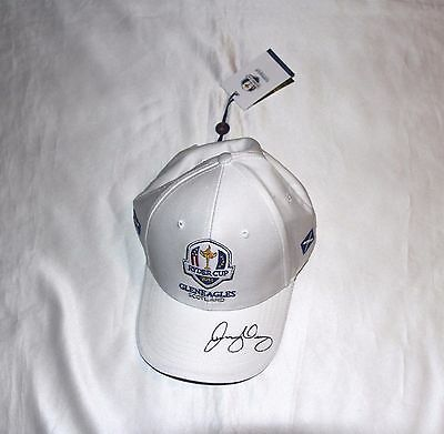 Rory McIlroy Autographed Ryder Cup Golf Cap with COA