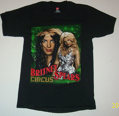 Britney Spears Circus Tour 2009 Concert T-Shirt