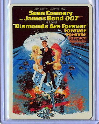 2016 James Bond Archives Spectre Edition METAL M7 Diamonds Are Forever /100