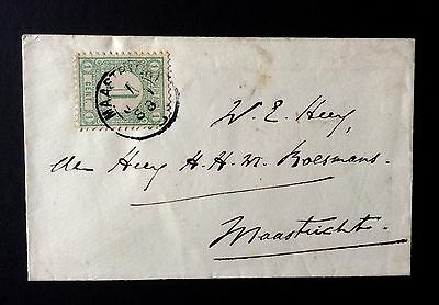 Netherland 1888 Cover Letter To Maastricht