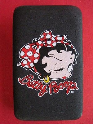 "Betty Boop Black Wallet Purse  7"" X 4 1/2"""