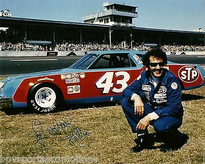 """Richard Petty Signed Autograph 8 X 10 Color Photo Nascar Great """"the King"""" #2"""