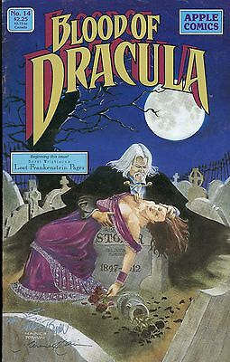 Blood of Dracula #14 (Sep 1989, Apple Press) FINE Signed 2X
