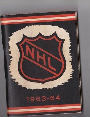 Nhl Media Guide Lot 1964 To 1972 You Pick 2 For  $20      5 Different To Choose