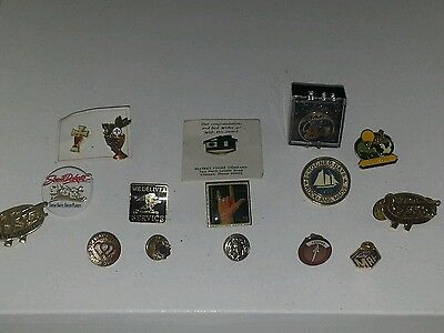 Vintage Tie Tacks Tack Pins Blood Donor USPS American Cancer Society Lot of 16