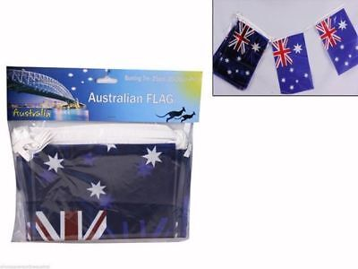 12 x Australia Day Flag Bunting 7M 25pce each pack Party Deco Wholesale lot