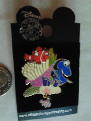 Disney Pin, 3D Finding Nemo.  Dangle Nemo 2005