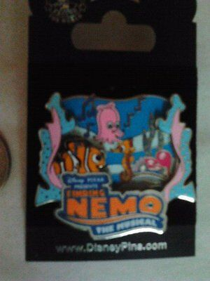 Disney 3D Pin, Finding Nemo The Musical Attraction
