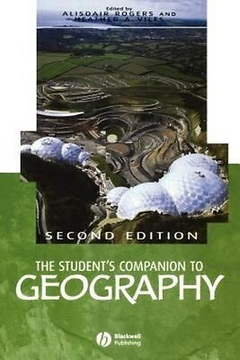 The Student's Companion to Geography by Alasdair Rogers Paperback Book (English)