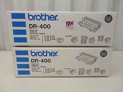 Lot Of 2 New Brother Dr-400 Drum Unit Ban