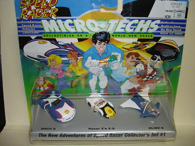 The New Adventures of Speed Racer Collector's Set #1 Micro-Techs 1994