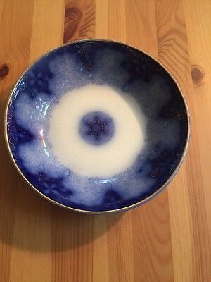 Flow Blue Bowl Made In Germany