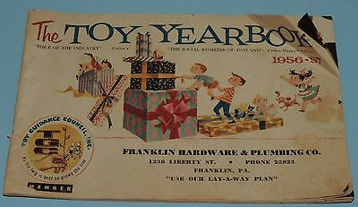 Vintage 1956-57 Christmas Toy Catalog 64pg Franklin Hardware Store PA
