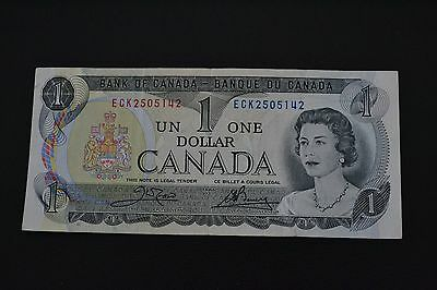 $1 Canadian paper banknote