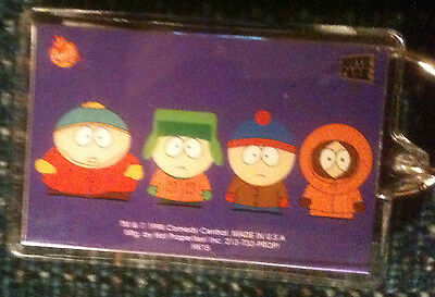 "South Park 4 Character Lucite KeyChain 2 3/4"" x 1 3/4"""