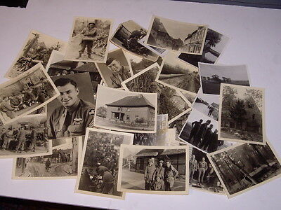 World war 2 U.S. soldiers in Germany and rare death camp photos