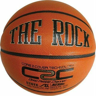 The Rock Basketball  Mens Composite Leather Basketball 29.5