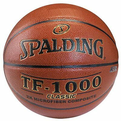 Men's Spalding TF-1000 Indoor Composite Leather Basketball 29.5""