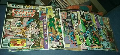 justice league of america 25 issue bronze age comics lot run set collection dc