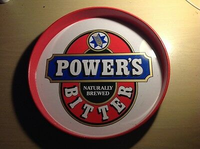 Powers bitter vintage drinks tray