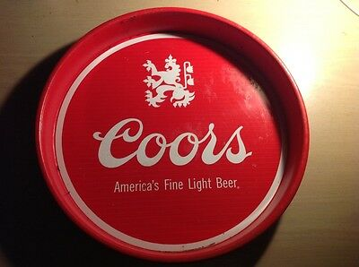 Coors vintage drink tray