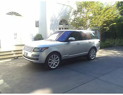 2016 Land Rover Range Rover  2016 Range Rover Supercharged