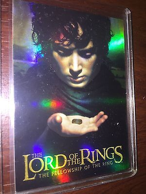 Topps Lord Of The Rings Fellowship Of The Ring Bonus Foil Card Promo 1 Of 2