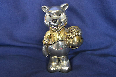 D'Argenta Winnie The Pooh Gold and Silver Plate figure Disney