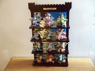 Franklin Mint Mood Dragons of the Month Collection & Display Stand