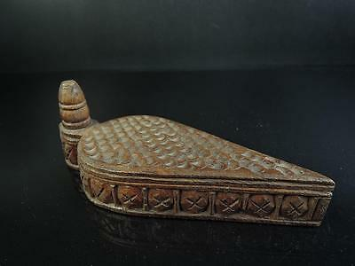 E3720: Africa Shapely CONTAINER for article Accessories Case Box Ethnic