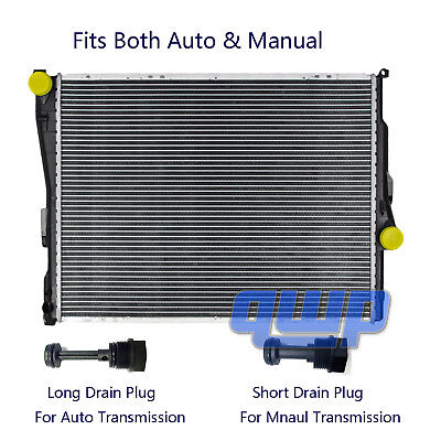 New Radiator For BMW E46 320 323 325 328 330 Z4 2.2 2.5 2.8 3.0 3.2 L6 A/T & M/T