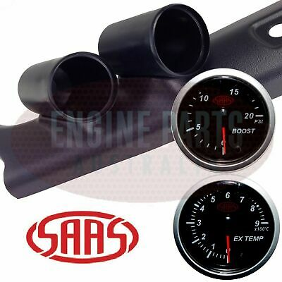 PIllar Pod suits Toyota Hilux 1997 - 2005 SAAS Exhaust Temp Turbo Boost Gauge