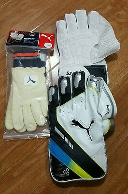 Puma Wicket Keeping Gloves and Inners Youth size