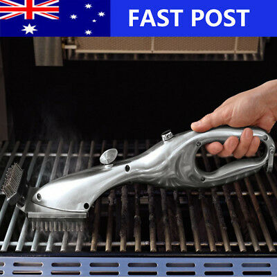 Picnics Barbecue Grill Daddy Cleaner BBQ Grill Brush Cleaning Tools Steel Wire