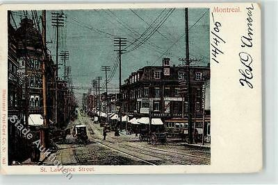 52223527 - Montreal St. Lawrence Street Strasse