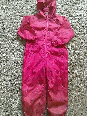 TU girls splash suit in size 4/5