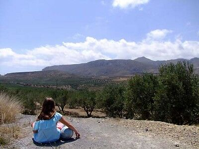 Crete Island Greece Olive Farm Sea Views Ideal For Camping Cottages Development