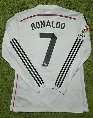 Ronaldo Real Madrid MATCH WORN shirt Portugal Messi 14/15 Manchester United PSG
