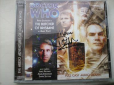 Doctor Who - The Butcher of Brisbane CD signed by MARC PLATT