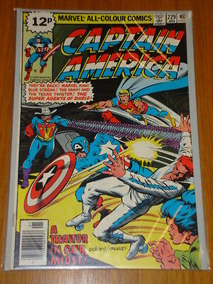 Captain America #229 Marvel Comic Near Mint Condition January 1979