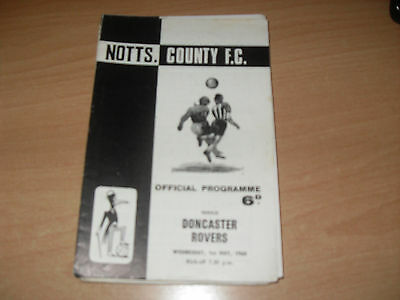 Notts County v Doncaster Rovers 1/5/68