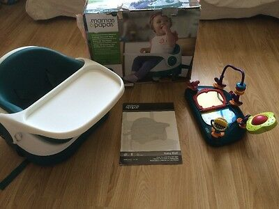 Mamas & Papas Baby Bud Booster High Chair & Activity Tray