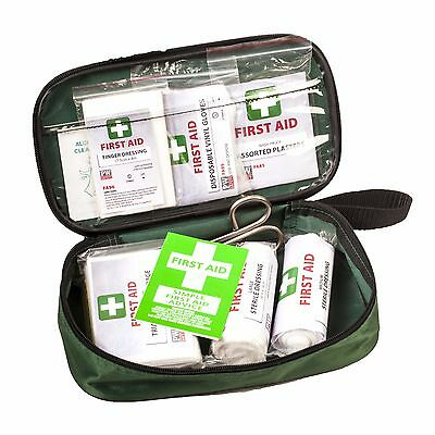 FA21 Portwest pw vehicle first aid kit green moped motorbike motorcycle safety