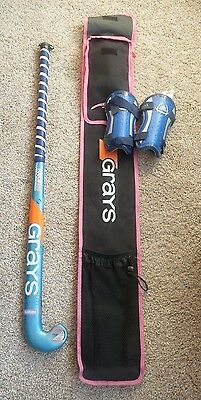 Grays Touch 500 hockey stick with black/pink bag