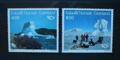 GREENLAND 1991 Nordic Countries' Postal Co-operation. Set of 2. MNH. SG236/237.