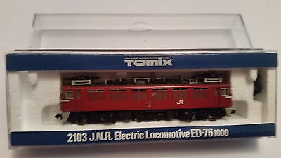 Tomix 2103 J.n.r. Electric Locomotive Ed-761000