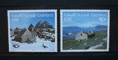 GREENLAND 1993 Nordic Countries' Postal Co-operation. Set of 2. MNH. SG250/251.