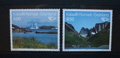 GREENLAND 1995 Nordic Countries' Postal Co-operation. Set of 2. MNH. SG280/281.